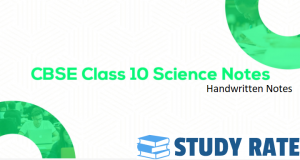 Read more about the article Class 10: Science Handwritten Toppers Notes PDF Download